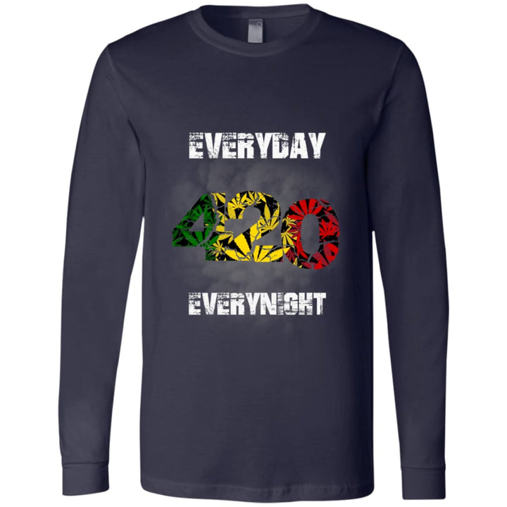 420 Everyday - Everynight Men's Jersey LS T-Shirt - Yours fruitfully