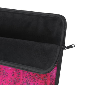 Cerise Dragon Fruit Design Laptop Sleeve - Yours fruitfully