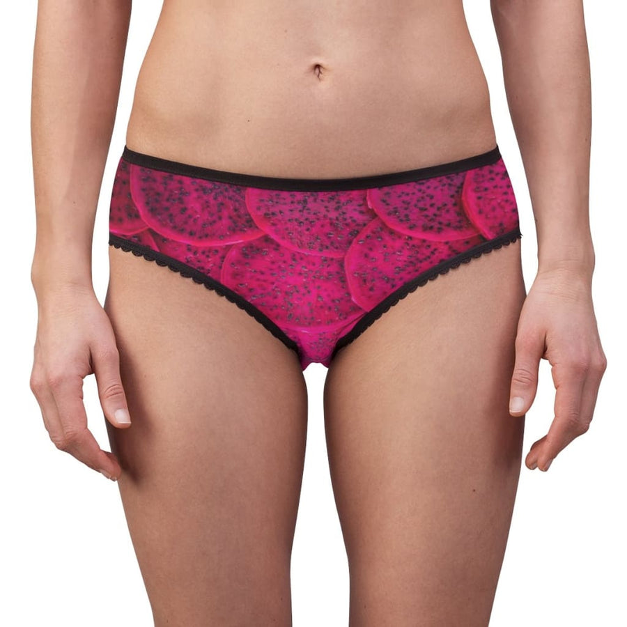Cerise Dragon Fruit Design Women's Briefs - Yours fruitfully