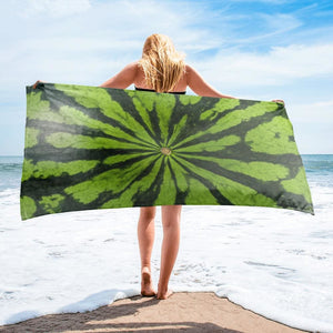DK Green Melon Design Towel - Yours fruitfully