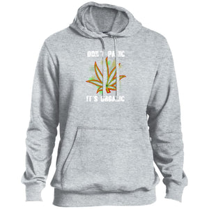 Don't Panic Tall Pullover Hoodie - Yours fruitfully