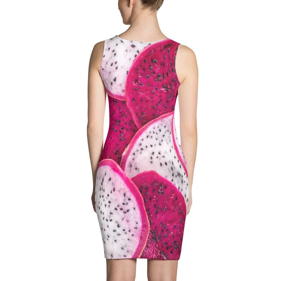 Dragon  Fruit Sublimation Cut & Sew Dress - Yours fruitfully