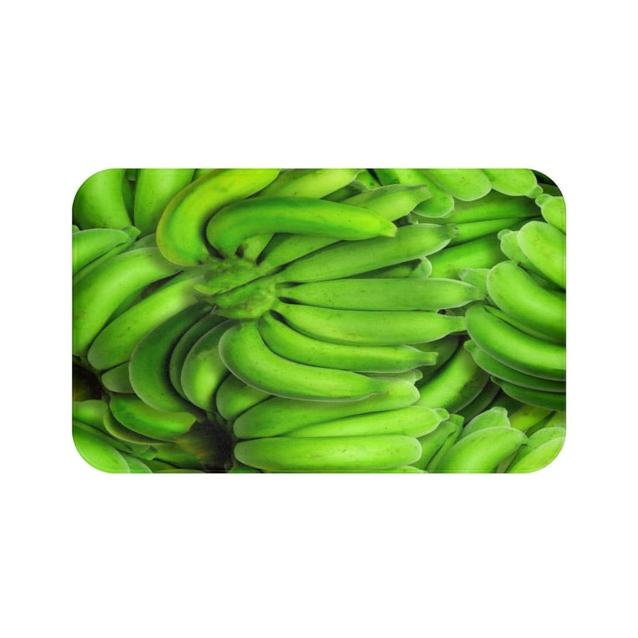 Green Banana Design Bath Mat - Yours fruitfully