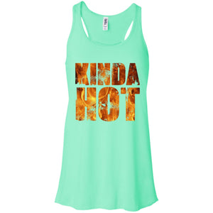 Kinda Hot Flowy Racerback Tank - Yours fruitfully