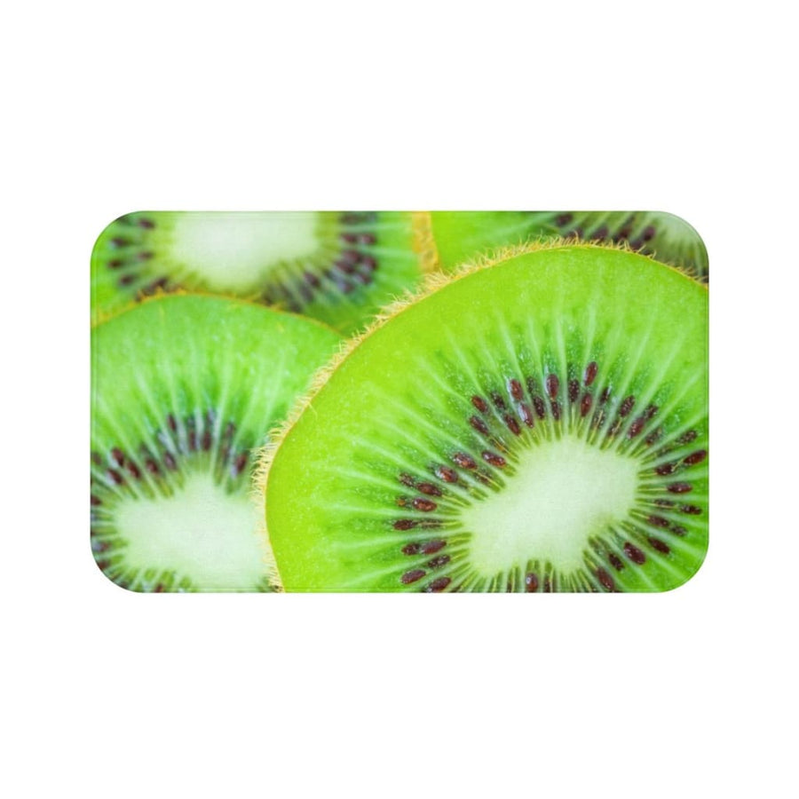 Kiwi Collection Bath Mat - Yours fruitfully
