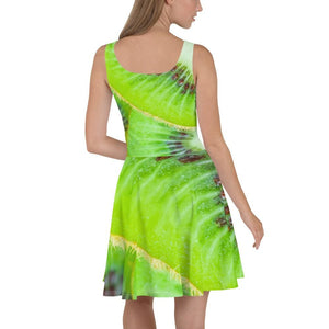 Kiwi Design Skater Dress - Yours fruitfully