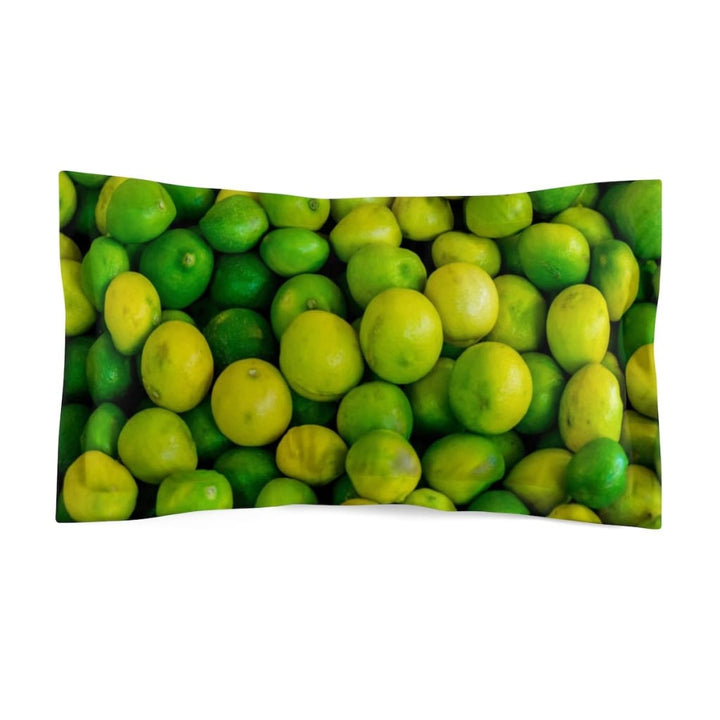Lime Design Pillow Sham - Yours fruitfully