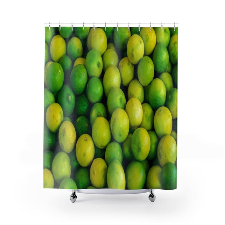 Lime Design Shower Curtains - Yours fruitfully