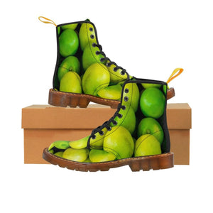 Lime Design Women's Canvas Boots - Yours fruitfully