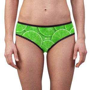 Lime Slice Design Women's Briefs - Yours fruitfully