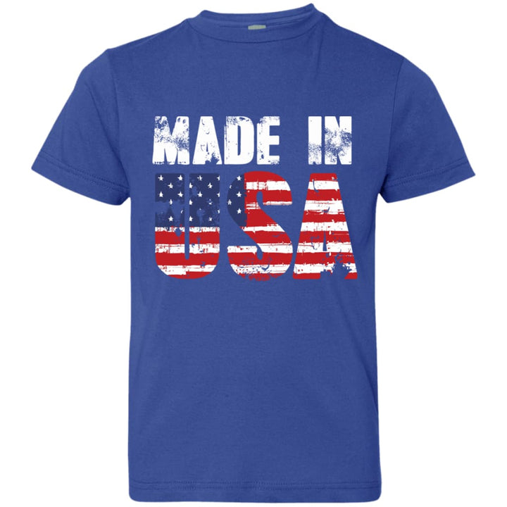 Made In USA Youth Jersey T-Shirt - Yours fruitfully