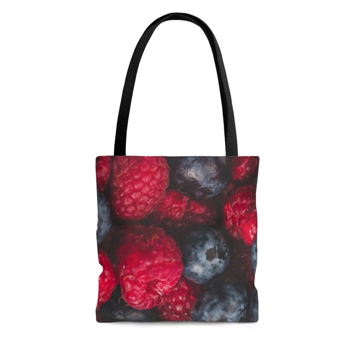 Mixed Berries Design Tote Bag - Yours fruitfully