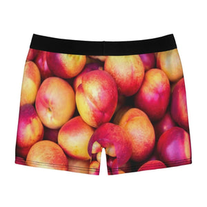 Nectarine Design Men's Boxer Briefs - Yours fruitfully