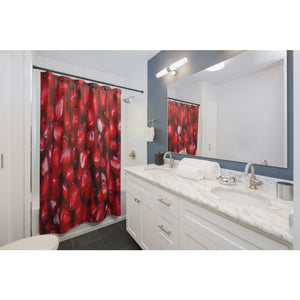 Pomegranate Seeds Design Shower Curtains - Yours fruitfully