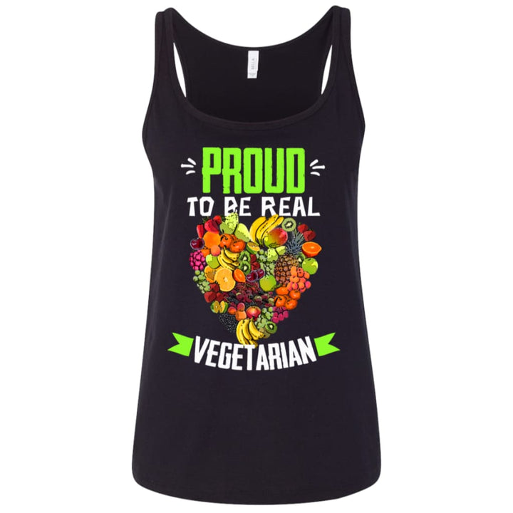 Proud To Be Real Vegetarian T-Shirt - Yours fruitfully