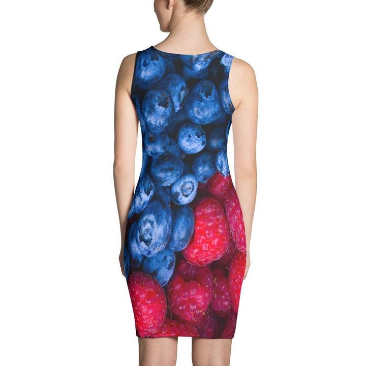 Raspberry Blueberry Sublimation Cut & Sew Dress - Yours fruitfully