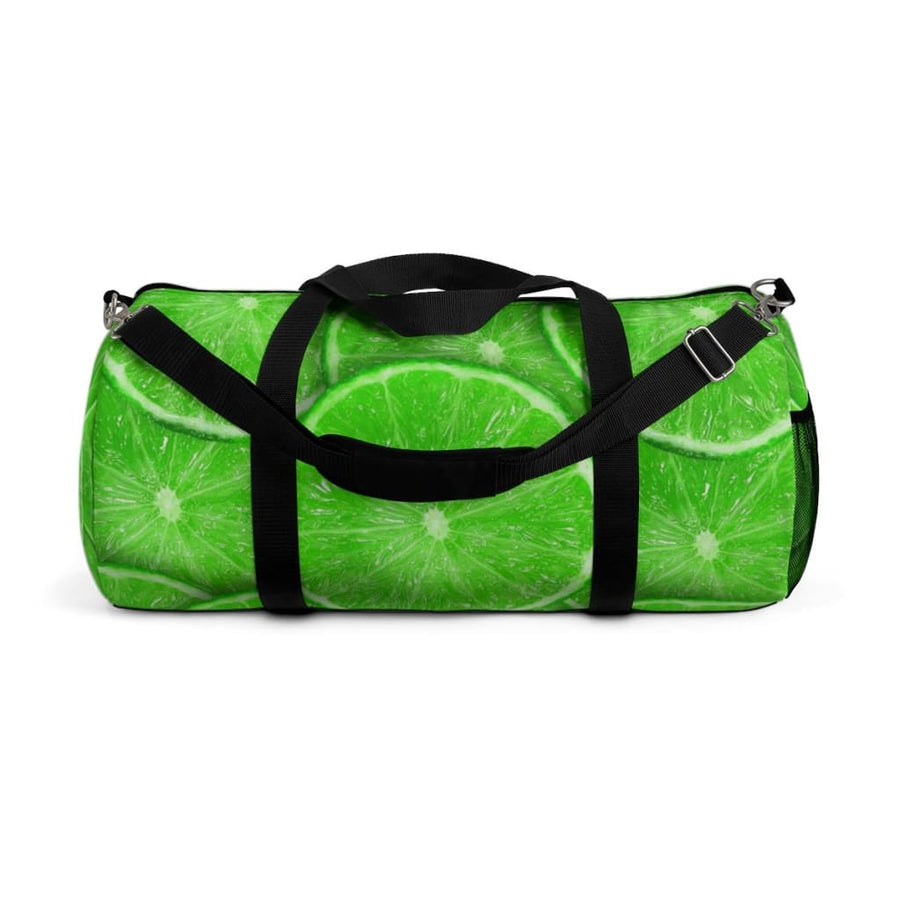 Sliced Lime Design Duffel Bag - Yours fruitfully