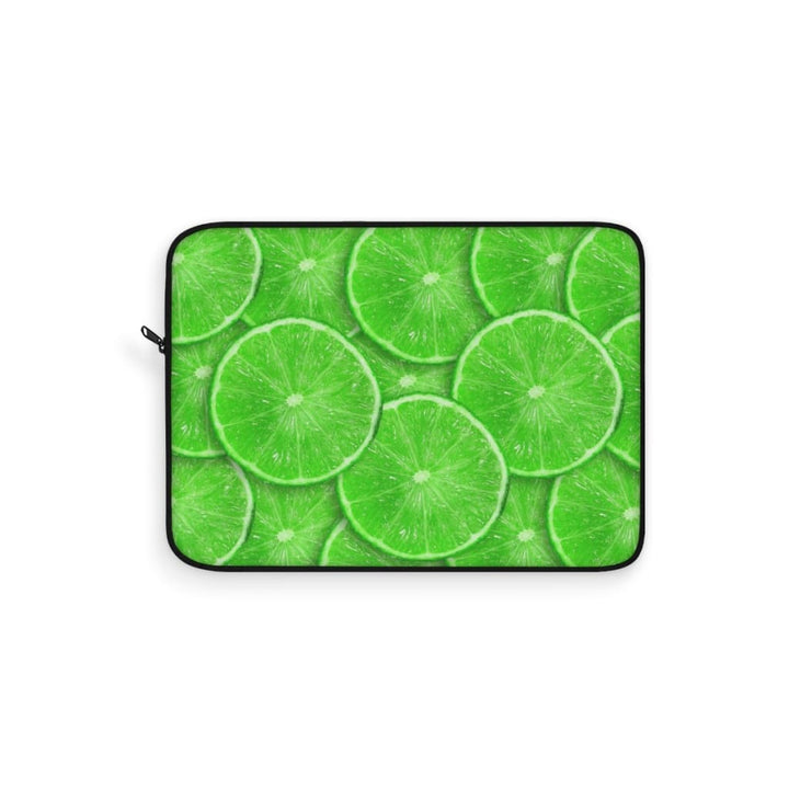 Sliced Lime Design Laptop Sleeve - Yours fruitfully