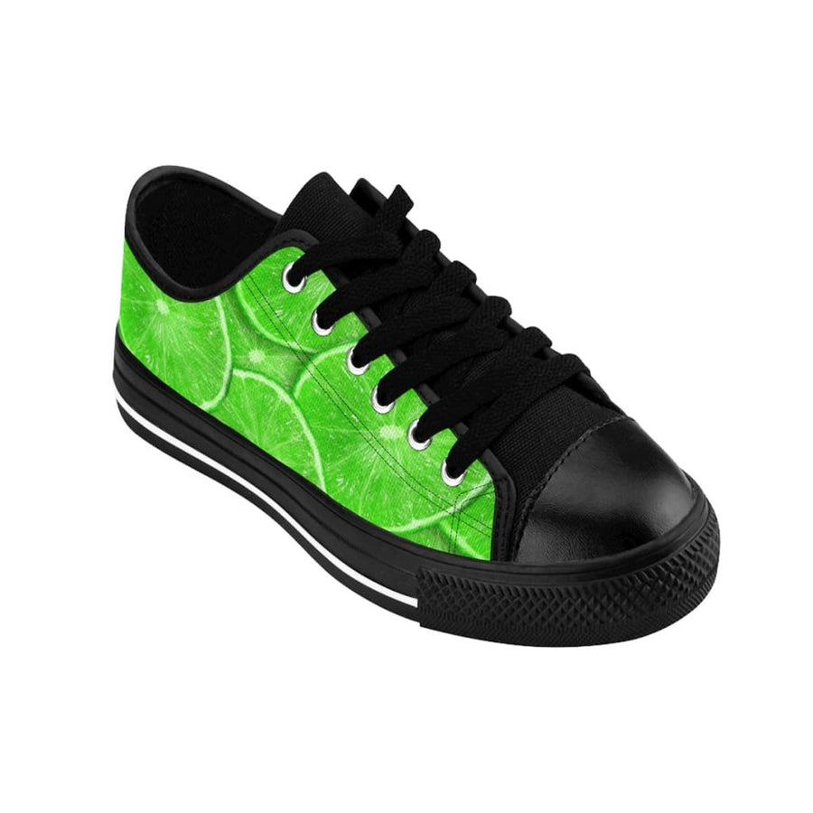 Sliced Lime Design Women's Sneakers - Yours fruitfully
