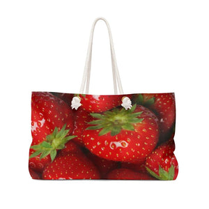 Strawberry Weekender Bag - Yours fruitfully