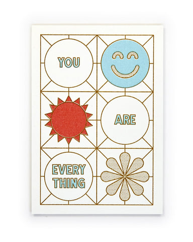 You Are Everything, Meditation Mini-Print - Relative Goods