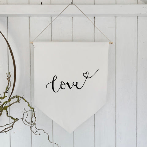 Wall banner - Love