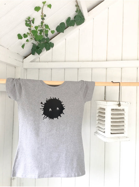 Ladies' organic T-shirt - Splat - Handmade Goose