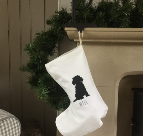 Christmas stocking - Handmade Goose
