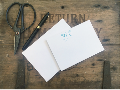 Personalised, handwritten note cards - Handmade Goose