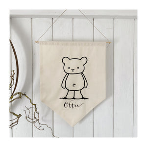 Personalised Bear Banner