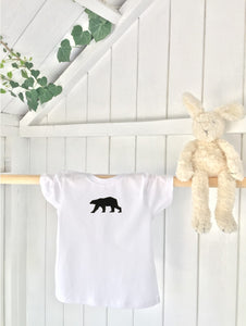 Kids' t-shirt - Bear - Handmade Goose