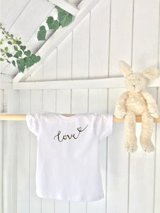 Kids' T-shirt - Love - Handmade Goose