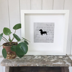 Personalised Animal Silhouette Pictures - Handmade Goose