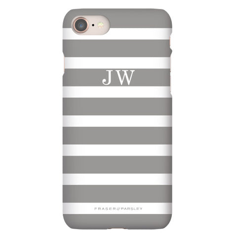 Breton | Soft Grey Phone Case