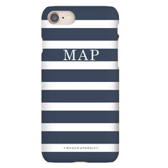 Breton | Marine Blue Phone Case