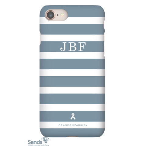 Breton | Muted Blue Phone Case