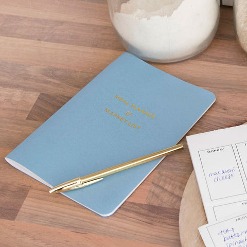 Meal Planner & Market List Book