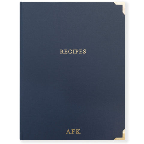 Recipe Binder | Navy