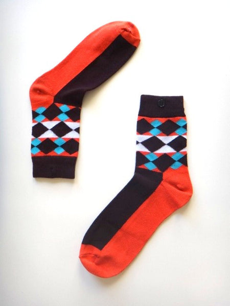 Geometric Dress Socks
