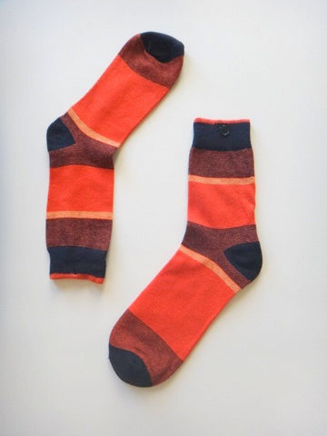 Colorblock Dress Socks