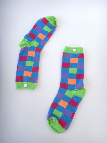 Dayglow Square Socks