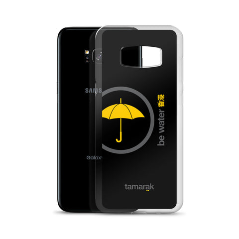 be water | black edition 002 | Samsung case