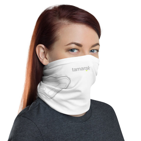 tamaräk topographic white | hope edition | neck gaiter