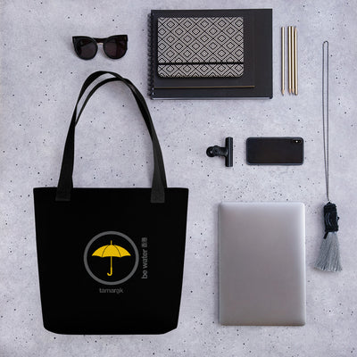 be water | black edition | tote bag