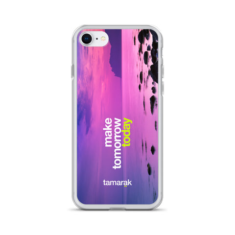 make tomorrow today | iPhone case
