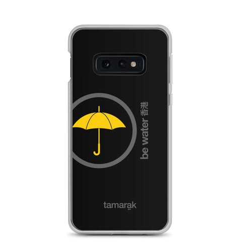 be water | black edition 001 | Samsung case