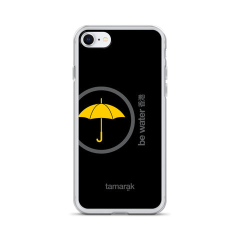 be water | black edition 001 | iPhone case