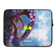 9 brains, 3 hearts | laptop sleeve