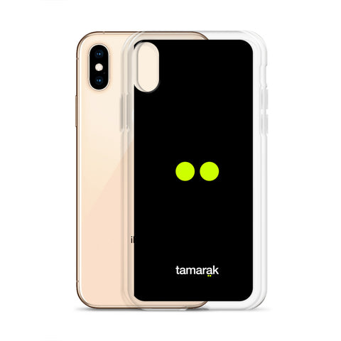 minimalism black | iPhone case