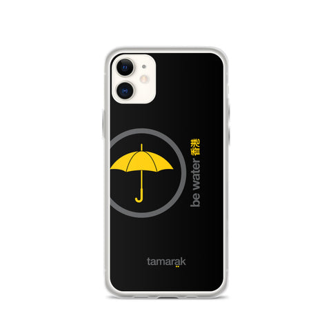 be water | black edition 002 | iPhone case
